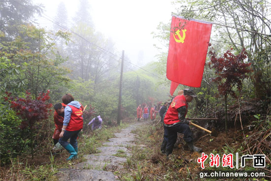 """广西龙胜融入""""红色元素""""推动党史学习教育更鲜活"""