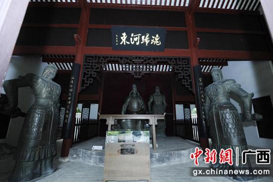 柳州市柳宗元纪念馆。  姚琳尹 摄