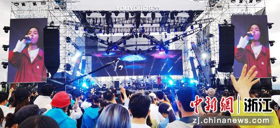 常山YOUYOU音乐节现场。李欣宁 摄