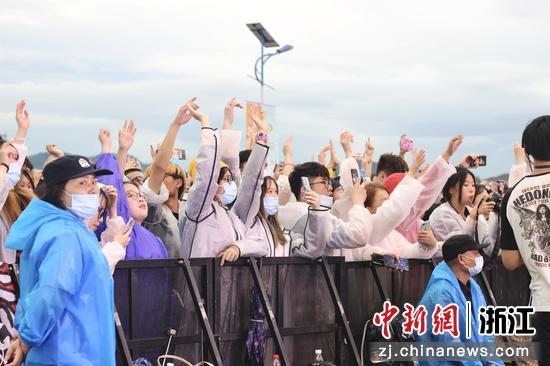 常山YOUYOU音乐节现场。汪旭莹 摄