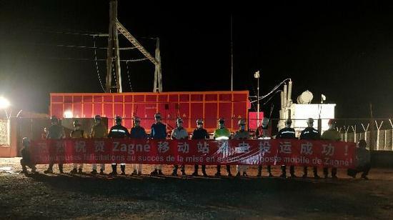 新疆送变电有限公司:科特项目13站10线送电投运