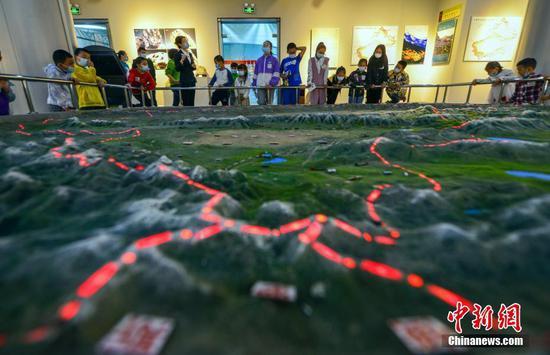 新疆地矿博物馆开展系列科普活动