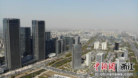 位于余杭区的杭州未来科技城。余杭区委宣传部供图