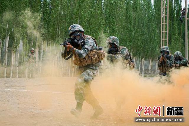 礪劍尖兵!直擊新疆軍區某獨立營實戰化綜合演練