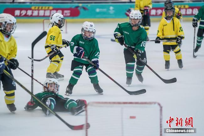 廣西南寧舉辦青少年冰雪運動會