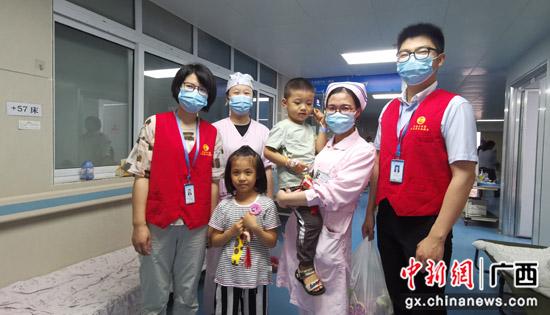 """自治区南溪山医院为患儿送上""""六一""""儿童节礼物"""