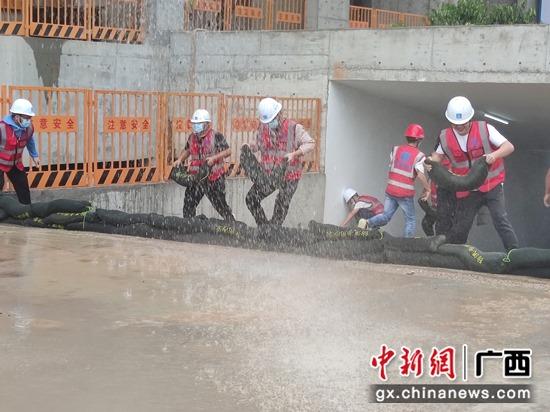 圖為防洪演練現場 主辦方供圖