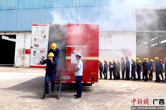 来宾消防深入糖企开展培训 筑牢安全生产防线