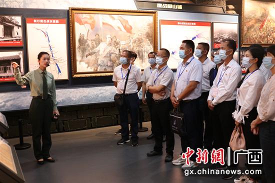 广西-东盟经开区党史学习教育掀起新热潮