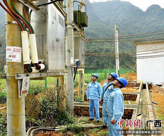 崇左供电公司紧盯重点项目服务地方经济发展