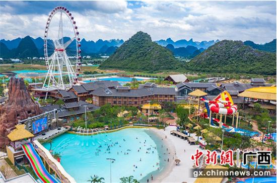 桂林融創國際旅游度假區開城 共建美好城市新樣本