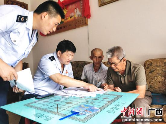 桂林税务局进行防止返贫动态监测助力乡村振兴