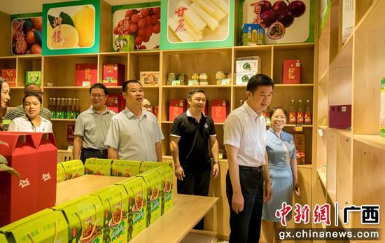 广西经贸职业技术学院助力平南县发展电商产业