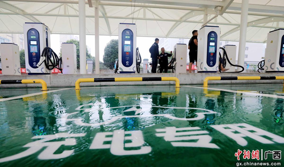 廣西首座縣域綜合能源服務站啟用