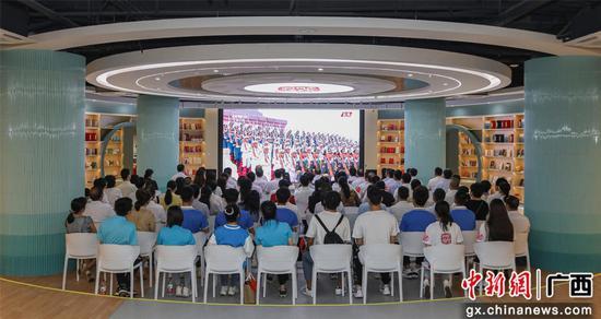 柳职师生收听收看庆祝中国共产党成立100周年大会直播