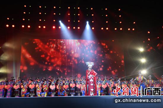 巴马举行2021年瑶族祝著节文艺演出活动