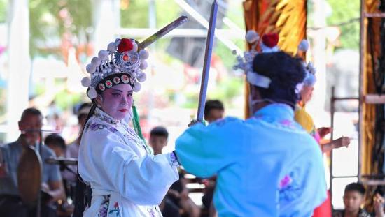 贵州福泉阳戏文化节活动举行