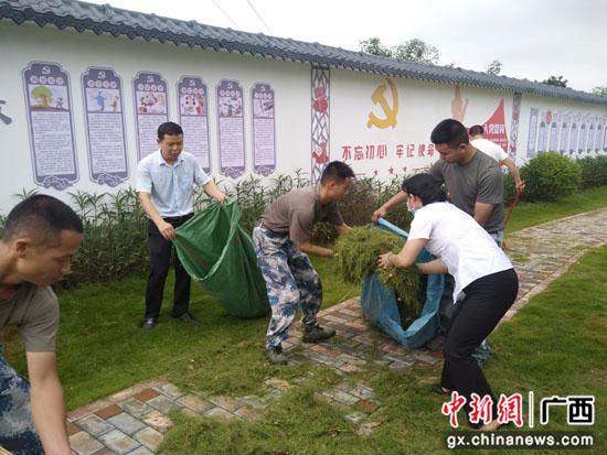 广西桂林柘木镇:军地融合发展 搭建支部共建新桥梁
