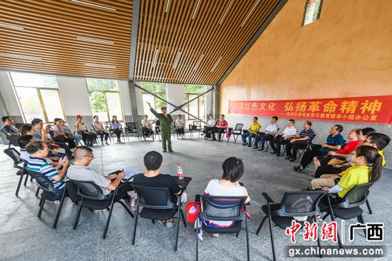 桂林临桂区委宣传部和党史学习教育领导小组开展党史学习教育