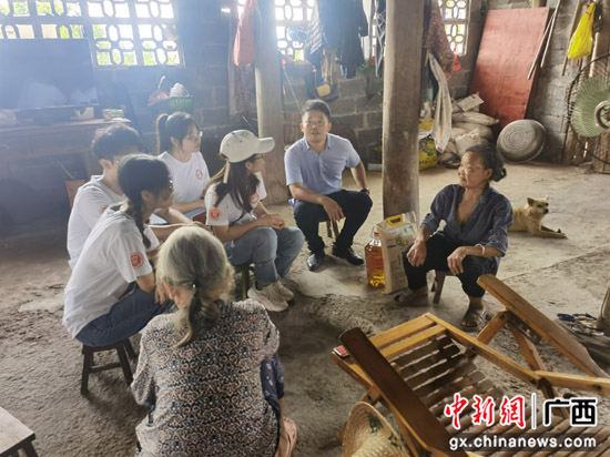 桂林医学院赴龙胜三门镇交其村开展社会实践