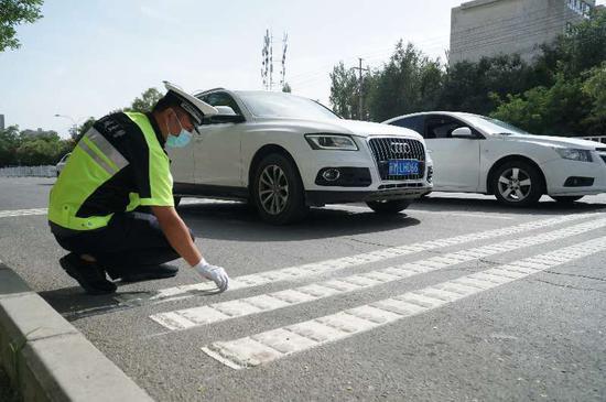 新疆库尔勒交通设施提档升级防事故保安全