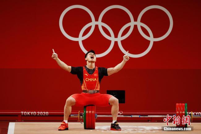 破世界紀錄!石智勇奪東京奧運男子舉重73公斤級金牌