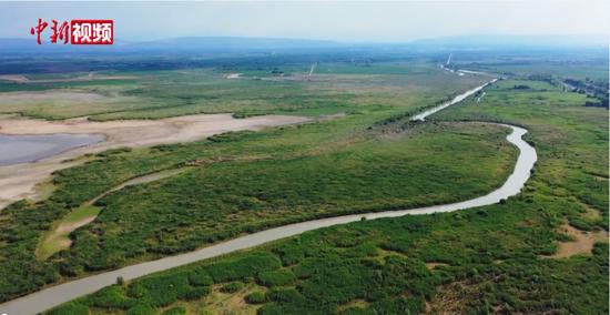 """玛纳斯国家湿地公园生态补水 为湿地""""解渴"""""""