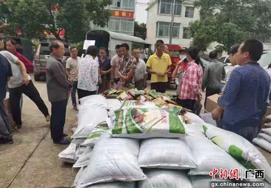 """横州市残联举办""""阳光助残基地""""甜玉米种植技术培训班"""