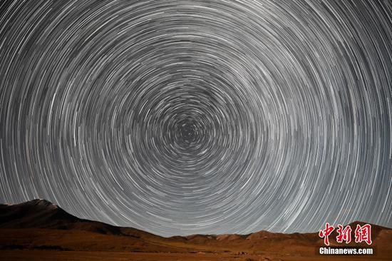 新疆阿尔金山国家级自然保护区进入观赏星空最佳期