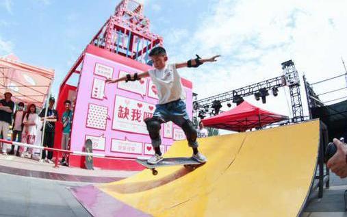 从街头走到奥运,热爱滑板的宁夏滑手有了新目标