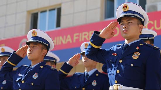 克拉玛依市消防救援支队《红蓝色的誓言》 献礼建党100周年