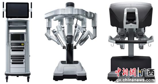 桂北地区第一台达芬奇手术机器人落户南溪山医院