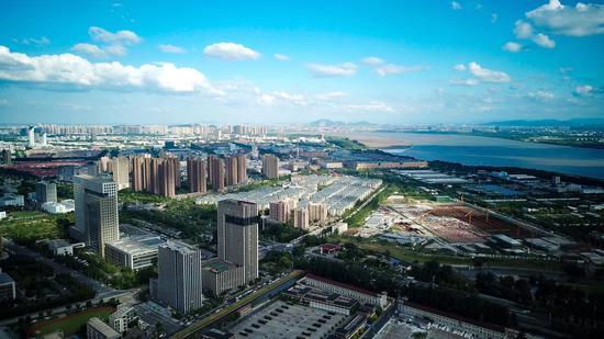 """杭州钱塘区""""十四五""""规划发布 地区生产总"""