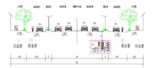 贵港市郁林路东段顺利通车 精细施工保证三所学校师生通畅出行