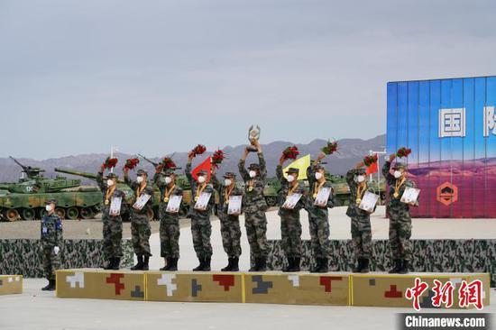 """中国获得""""安全环境""""项目第一名。 郭中正 摄"""