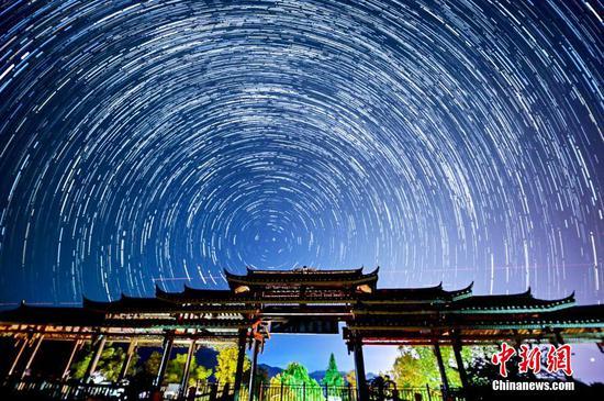 贵州从江星空闪耀