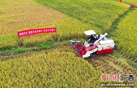 广西桂林龙胜县农业机械化助推乡村振兴步伐