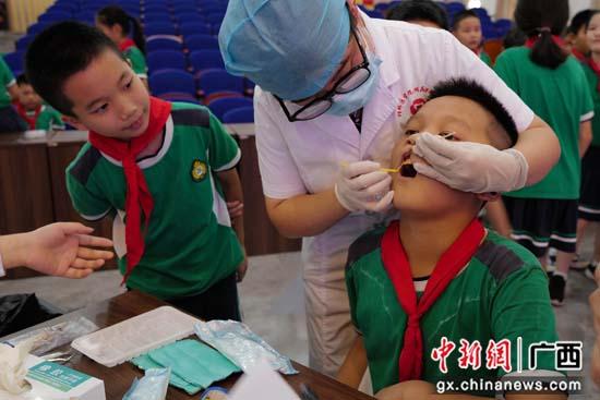 桂林医学院附属口腔医院开展健康口腔服务进校园行动