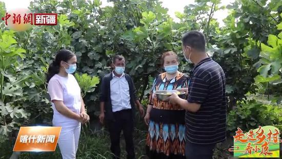 喀什地区瓜果飘香助农增收