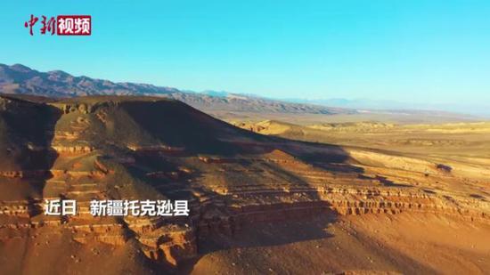 """俯瞰天山红河谷""""大风耳""""壮美之境"""