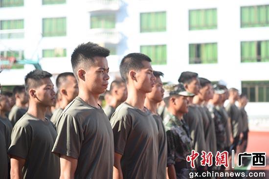 钦州市钦南区人武部2021年秋季预定新兵役前集训侧记
