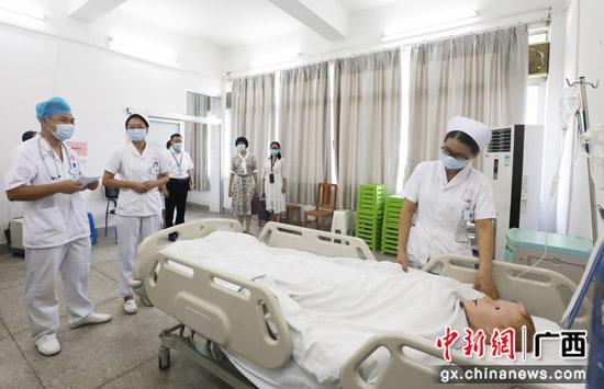 广西卫健委专家组到南溪山医院评估调研卫生人才培训工作