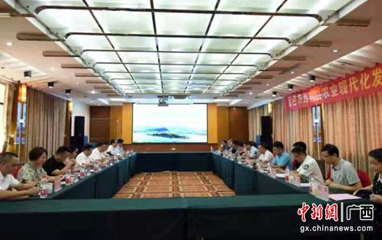 """西林县邀请自治区农业专家为农业现代化发展""""把脉"""""""