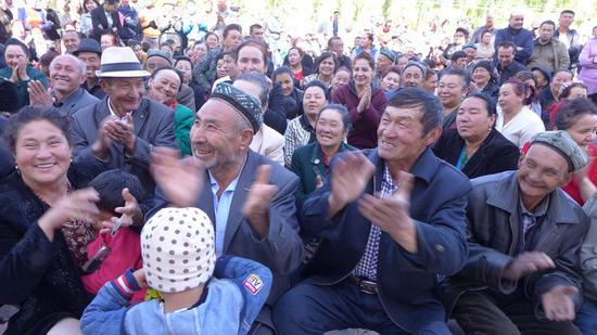 图为新疆科学大讲堂现场
