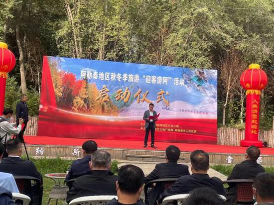 阿勒泰地区文体广旅局局长刘克川发布4条精品滑雪线路。
