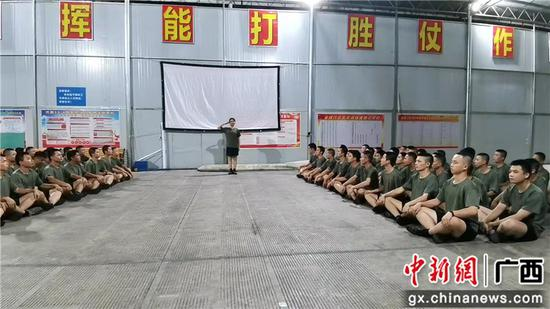 """河池金城江区举行""""我要去当兵""""主题演讲活动"""