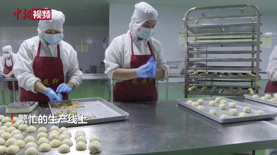 新疆月餅馕走俏市場