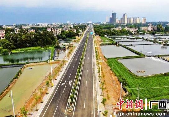 广西合浦打造县域经济强县