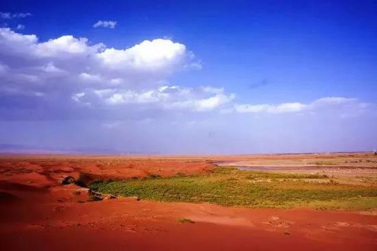 [印象·柯坪]红、静、野、美的柯坪红沙漠 一起来玩!