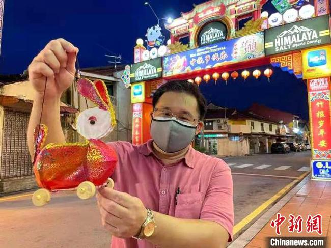 马来西亚世遗鸡场街中秋节再亮秦淮花灯